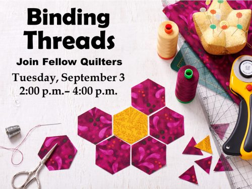 Binding Threads Sept 3