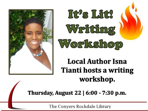 It's Lit Writing Workshop August 2019