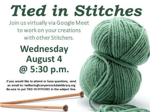 Tied in Stitches August 4