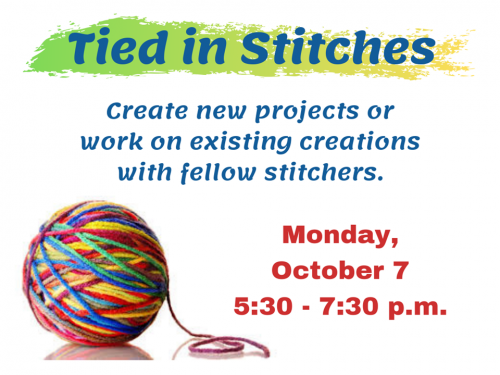 Tied in Stitches Oct 2019