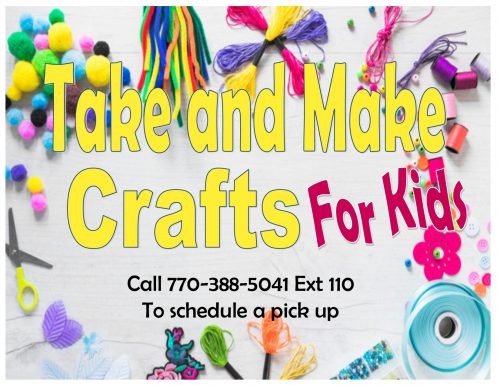 take and make crafts spring